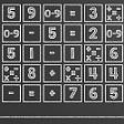 Součty na tabuli HTML5