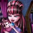 Starání se o miminko z Monster High