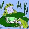 Znuděný žabák a syn